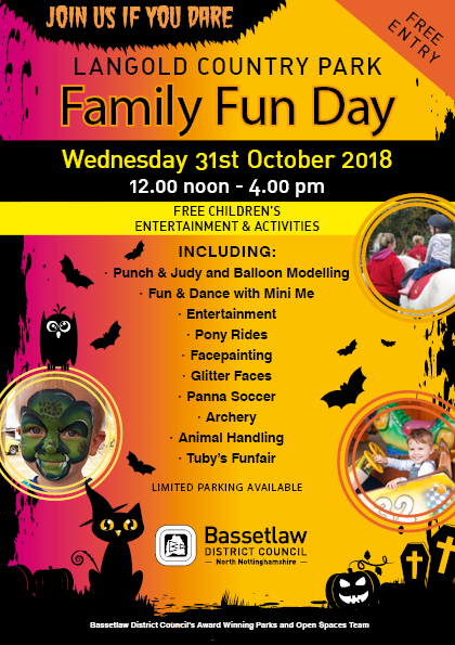 Family fun day - Langold Country Park event.