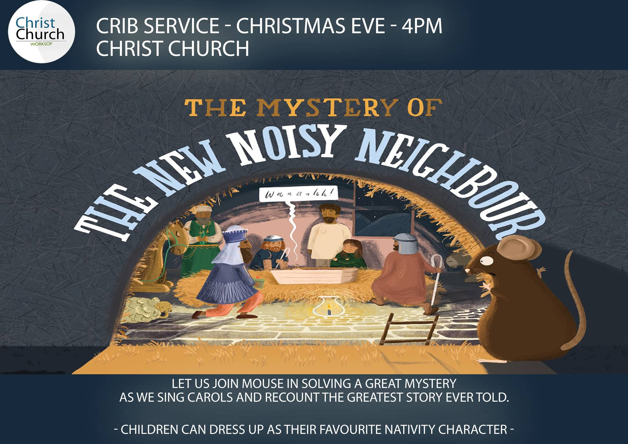 The Mystery Of The New Noisy Neighour  event.