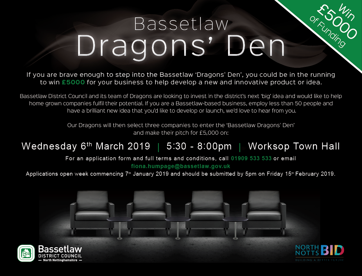 Step into the Dragons' Den