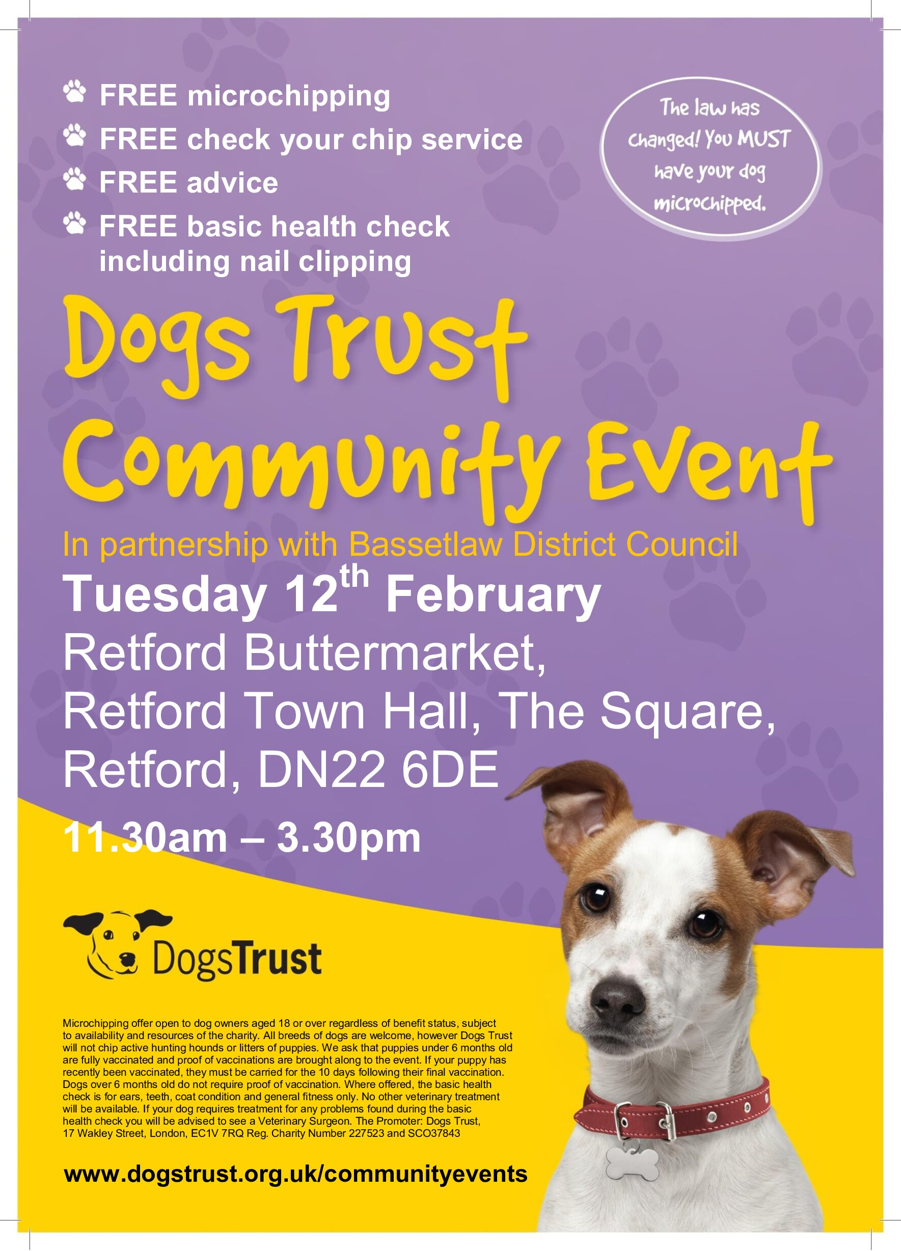 Dogs Trust Community Event event.