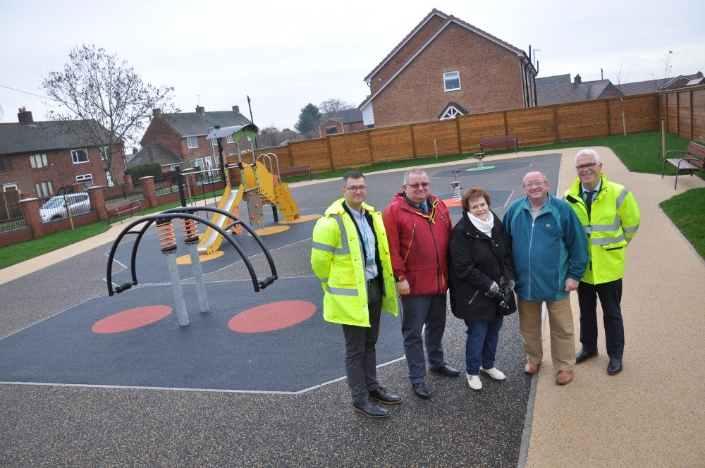 New Play Area for Harworth