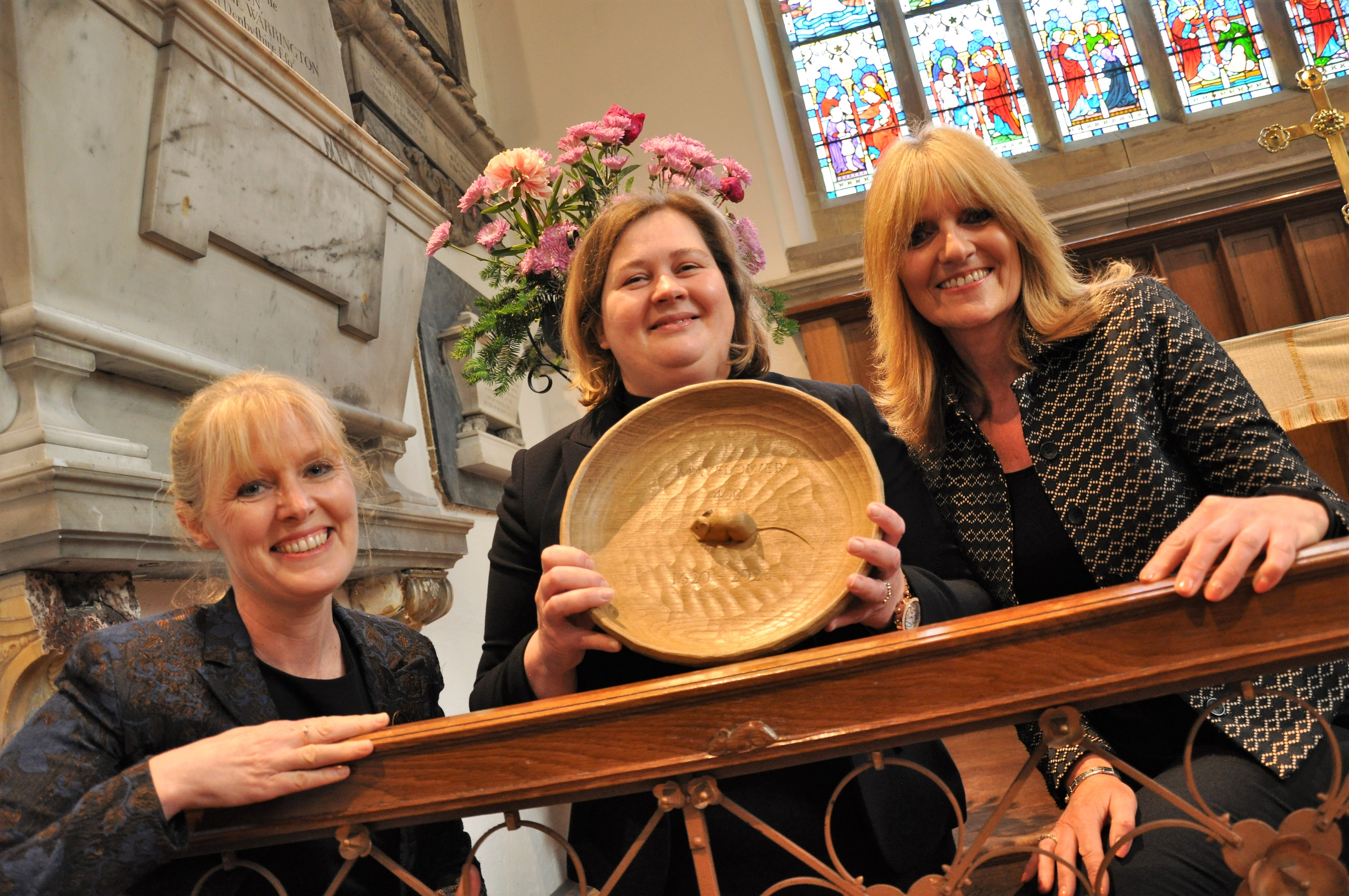 Thompson 'Mousie' Plate presented to Babworth Church
