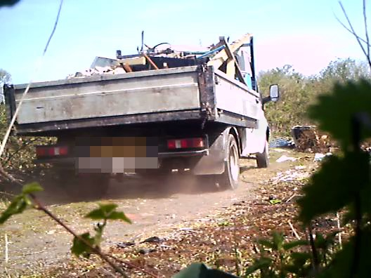 Fly-tipper Caught on Camera