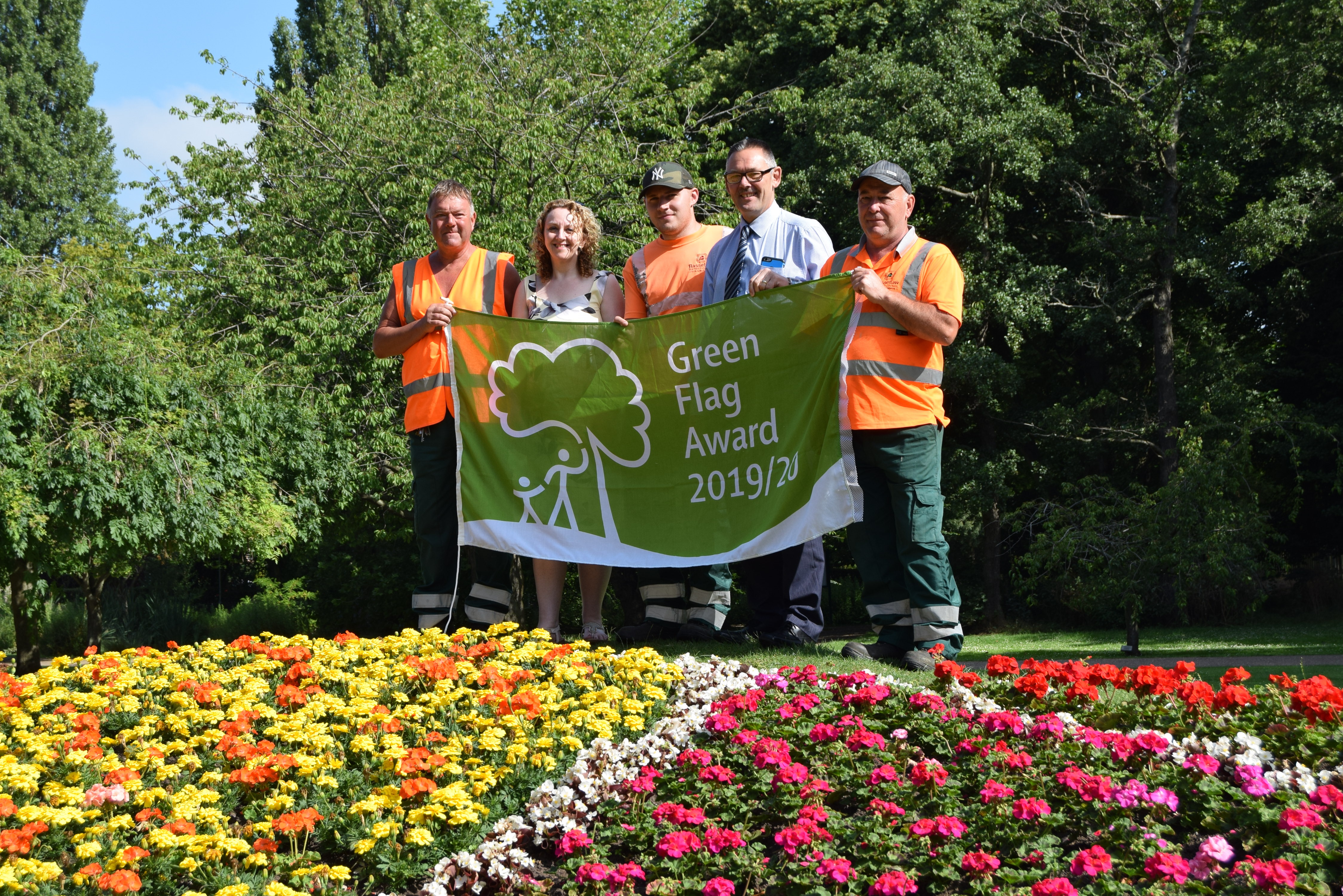 Parks recognised as two of the UK's very best green spaces