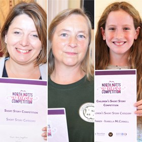 Winners of North Notts Lit Fest Competitions