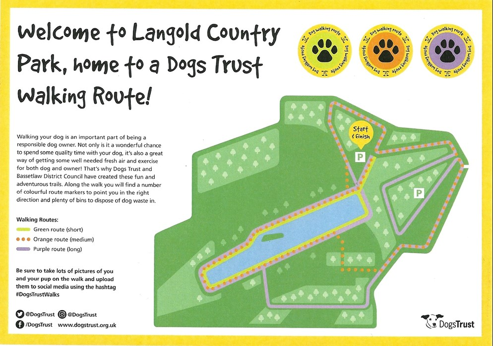 Dogs Trust Walking Route