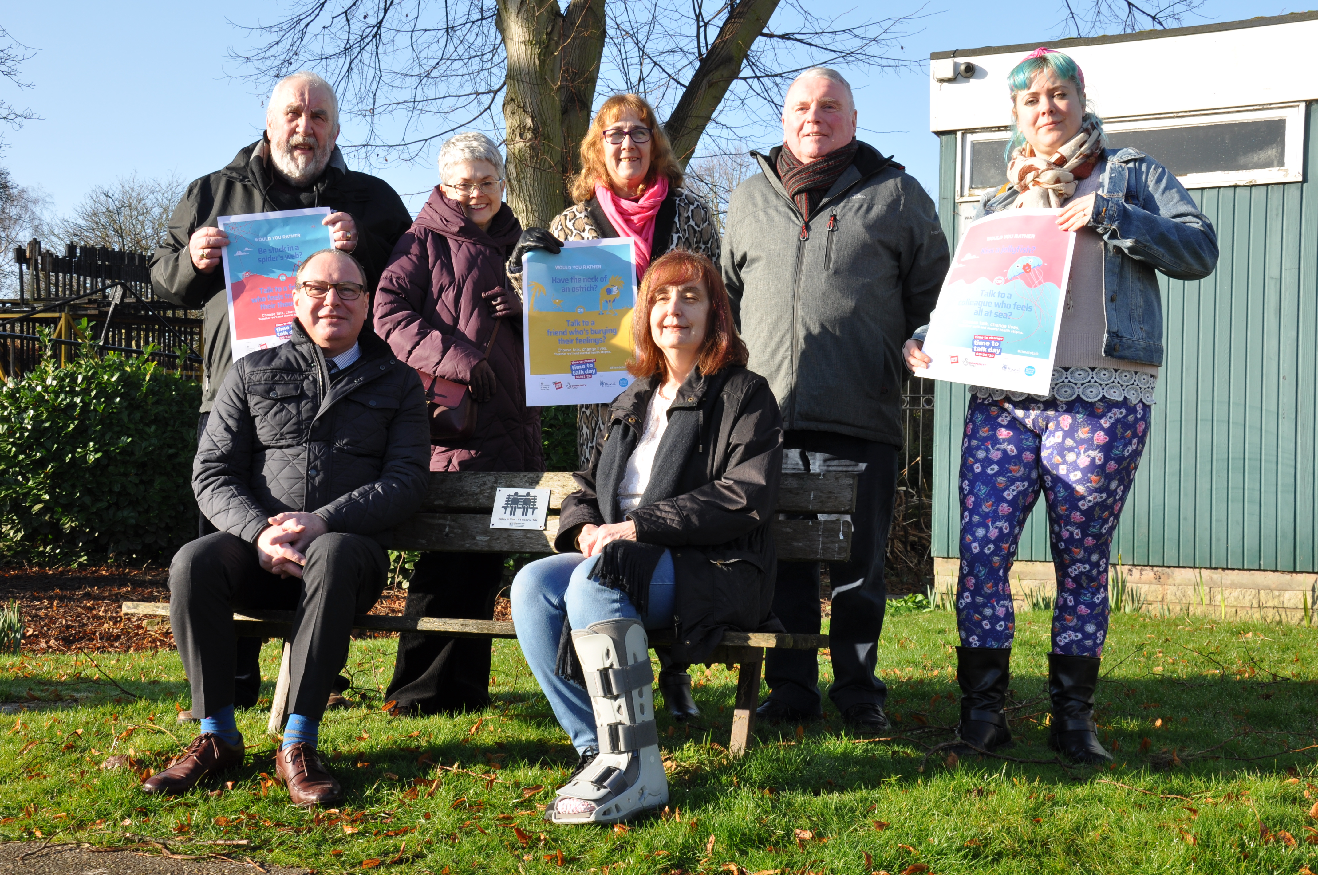 Bassetlaw 'Happy to Chat' Benches Encourage Conversation