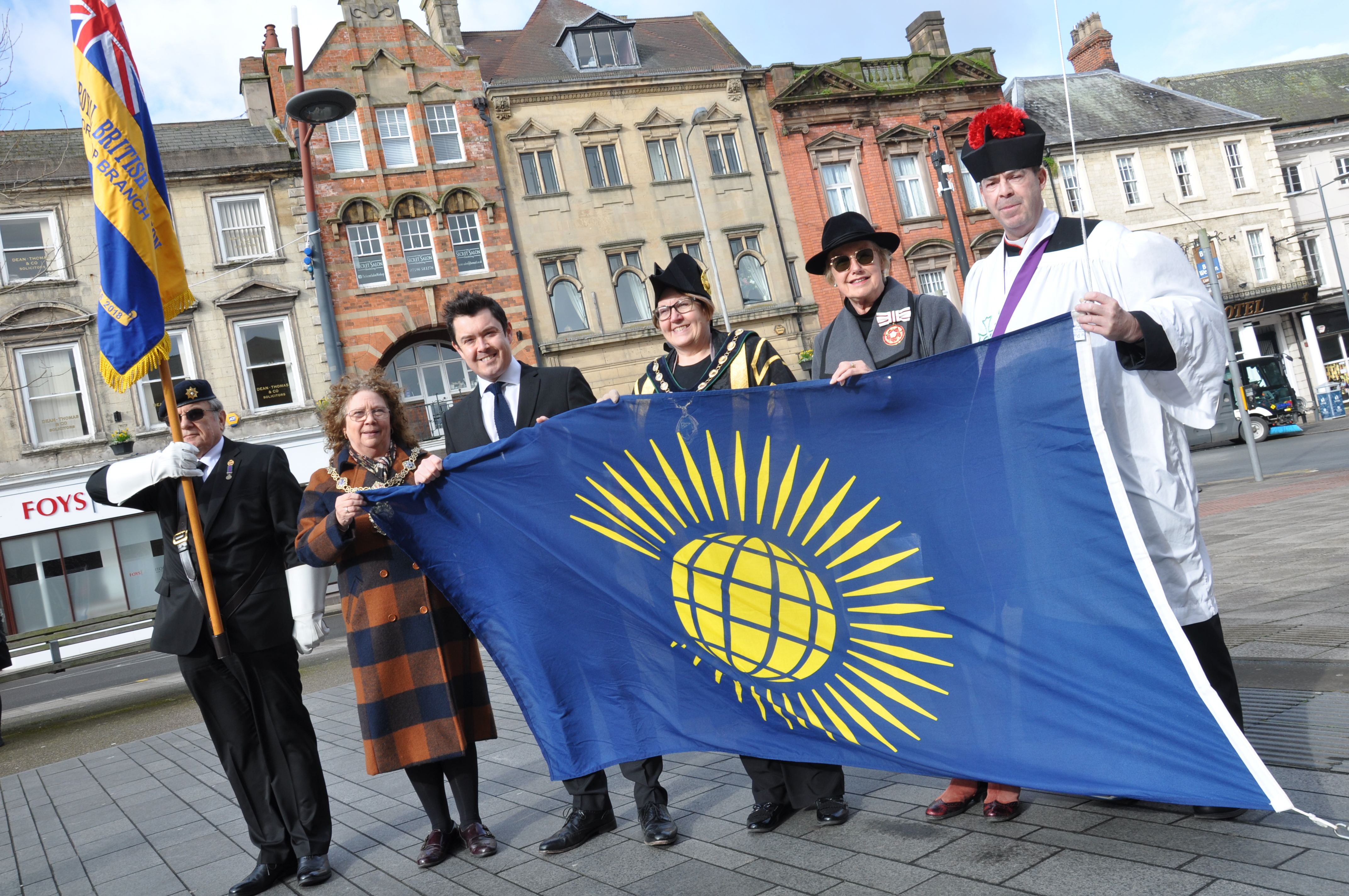Bassetlaw District Council Flies Flag for Commonwealth
