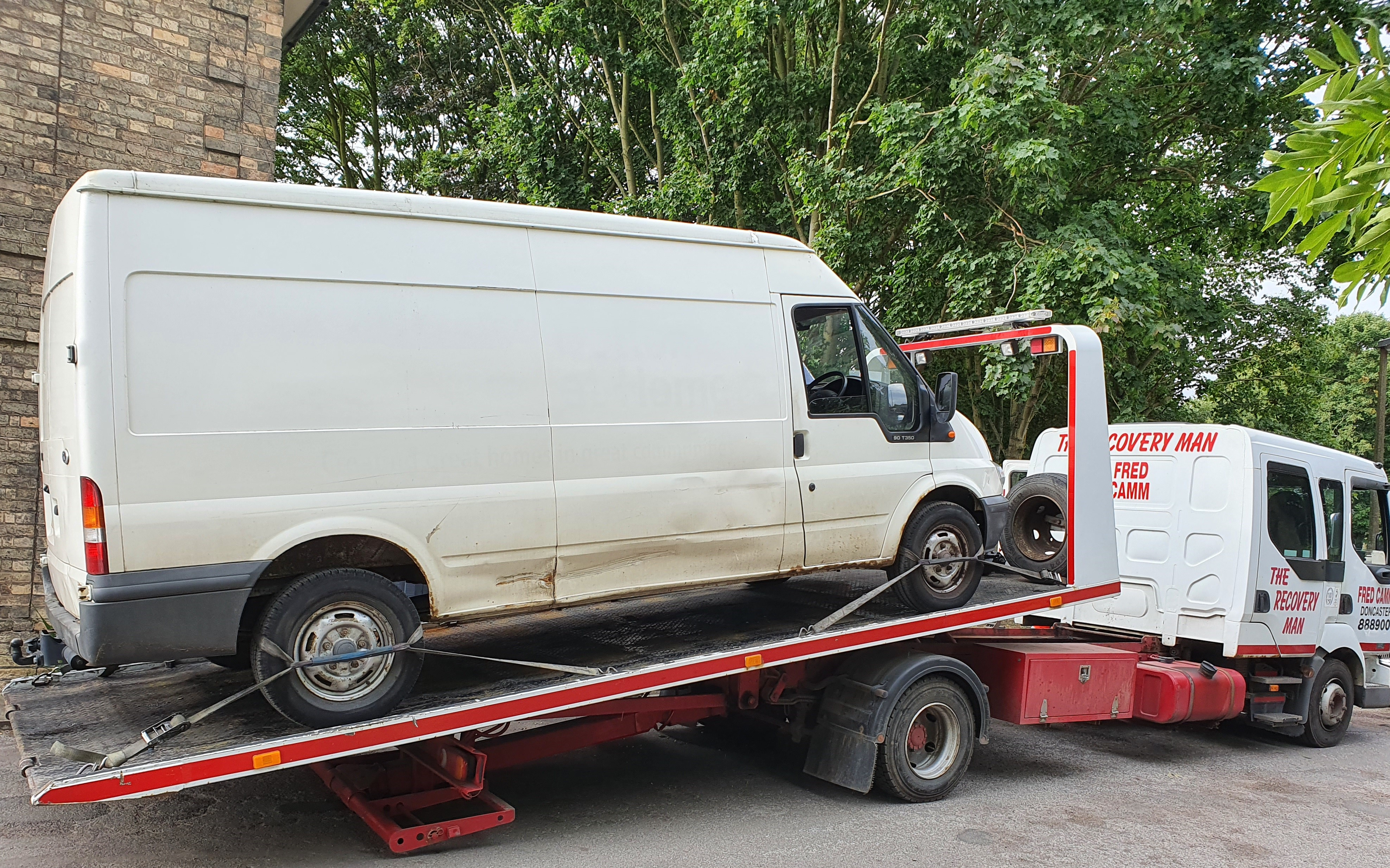 Council seizes van used in Fly tip